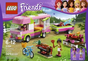 Lego Affiliate Link - Amazon Friends Adventure Camper